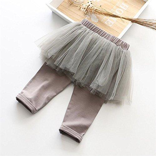 f50cede97cac0 Angel Mili子供服 女の子 スカート 付き レギンス 7分丈 キッズ 女の子 スカート キッズスカート