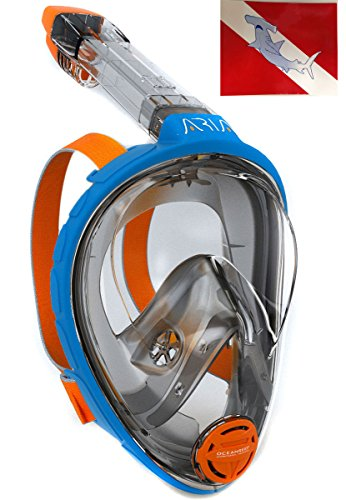 Ocean Reef Aria Full Face Snorkel Mask with Camera Mount Compatible/Replacement for...