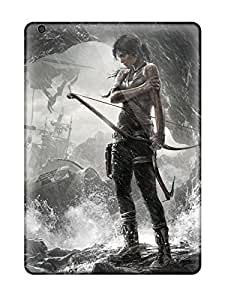 Hot Tomb Raider Game First Grade Tpu Phone Case For Ipad Air Case Cover