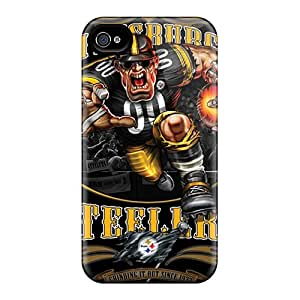 Shock Absorption Hard Cell-phone Cases For Iphone 6plus (acU19472aiYs) Provide Private Custom Fashion Pittsburgh Steelers Pattern