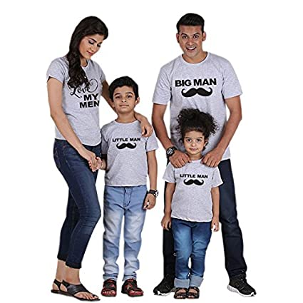 a7ce648a Mommy and me Mother Daughter Clothes Family Matching Outfits Look Tshirt  mom Father Son Baby Boys Girls Mini Boss t-Shirt Dress : Colour10, ...
