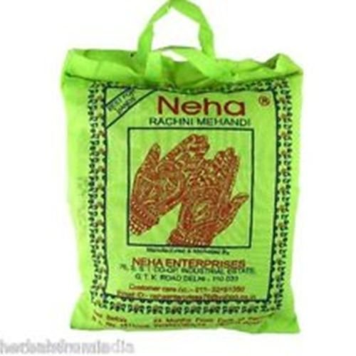 New Neha Henna Burgundy Hair Color for Hair Dyeing 200 Grm by NEHA