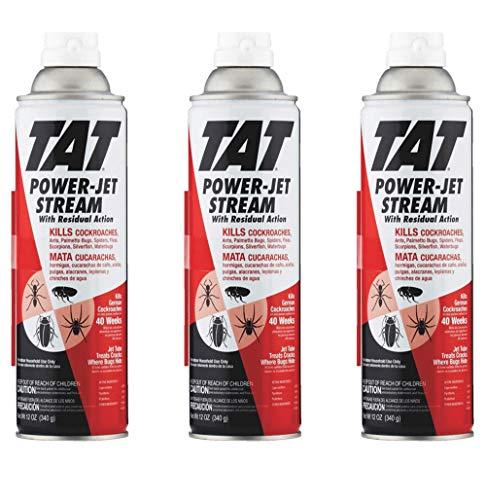 3X TAT Roach Ant Insect Killer Power Jet Stream Pest Spray I