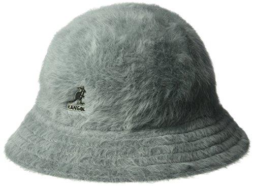 Kangol Unisex-Adults Furgora Casual Bucket Hat, Slate Grey, L