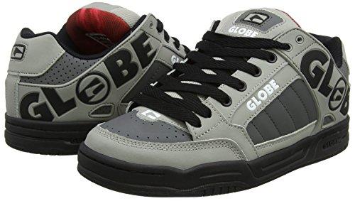 Hommes Pour Multicolores Noir Rouge Tilt Skateboard gris Chaussures De Globe wqIRXvw