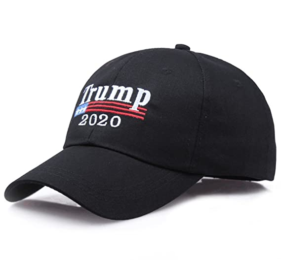 Image Unavailable. Image not available for. Color  YAKER Trump 2020 Keep  America Great Embrodiery Campaign Hat USA Baseball Cap 5e94fe48963f