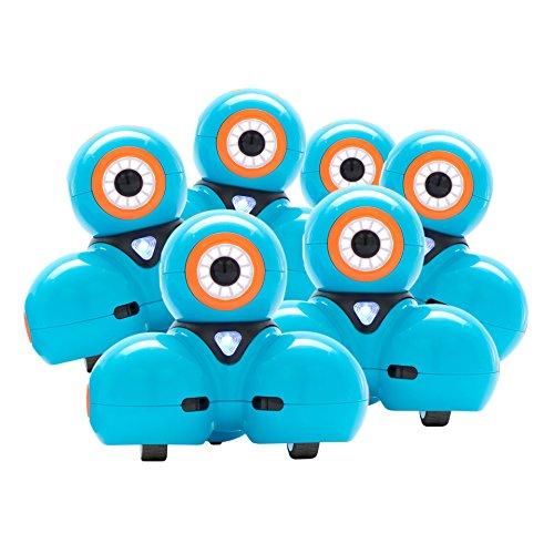 Wonder Workshop Dash Robot 6-Pack for Steam Education