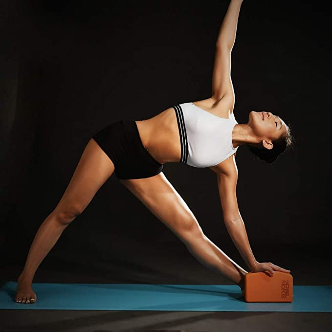 ZQSLD Bloque de Yoga 2 Piezas,Ladrillo de Yoga de Medio Arco ...