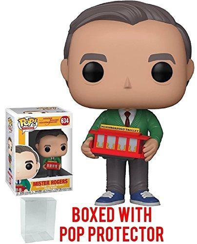 Funko Pop! Mister Rogers Neighborhood - Mr. Rogers Vinyl Figure (Bundled with Pop Box Protector Case) ()