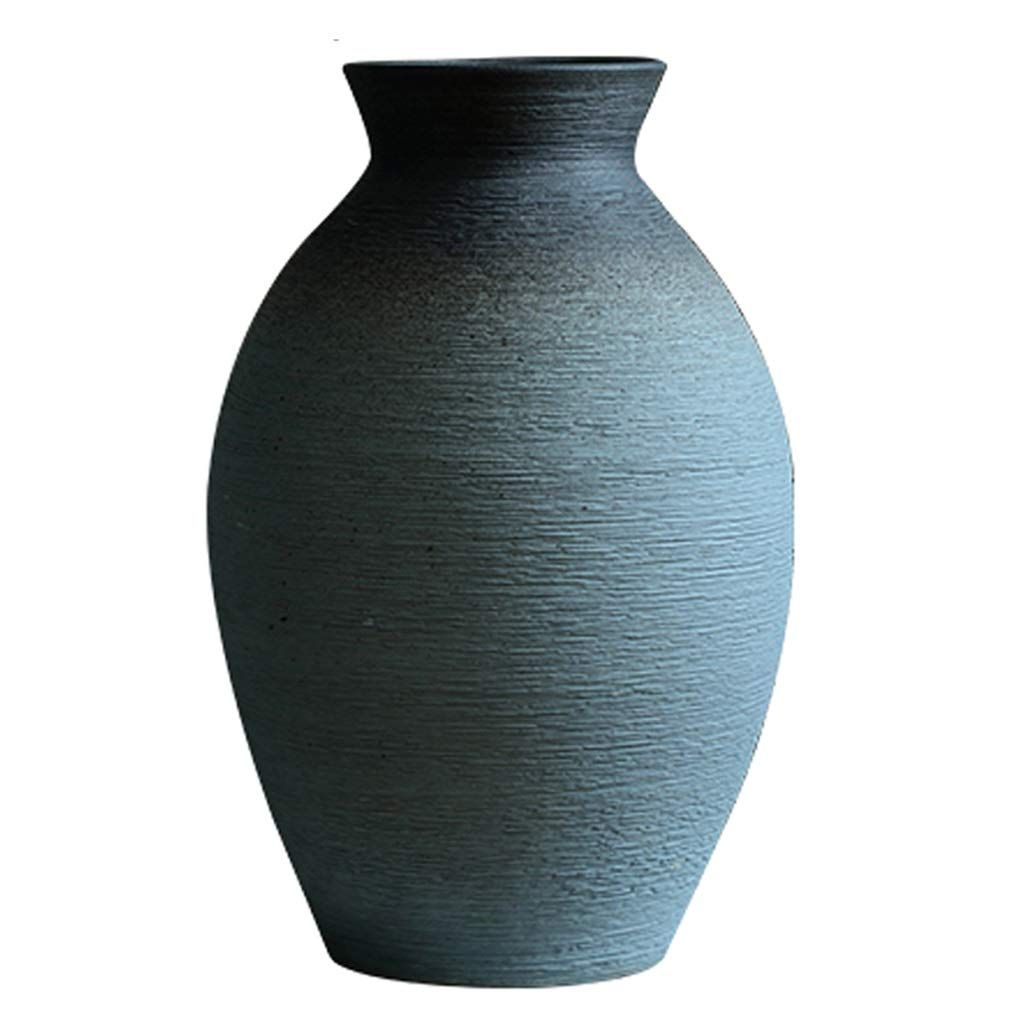 フラワーベース花器 花瓶 中国のセラミック花瓶 リビングルームの装飾花瓶 ポーチ禅ホテル花瓶 花のドライフラワーアレンジメント花瓶 家の装飾花瓶 (Size : 20x20x32cm) B07QKSF1VY  20x20x32cm