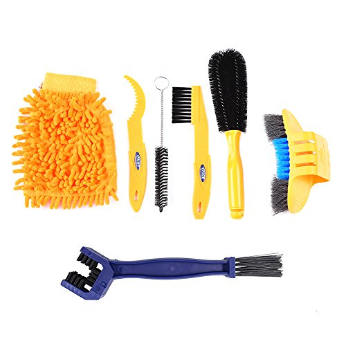 Bike Cleaning Brush Tool Kit Set (Chain Cleaning Brush Set)