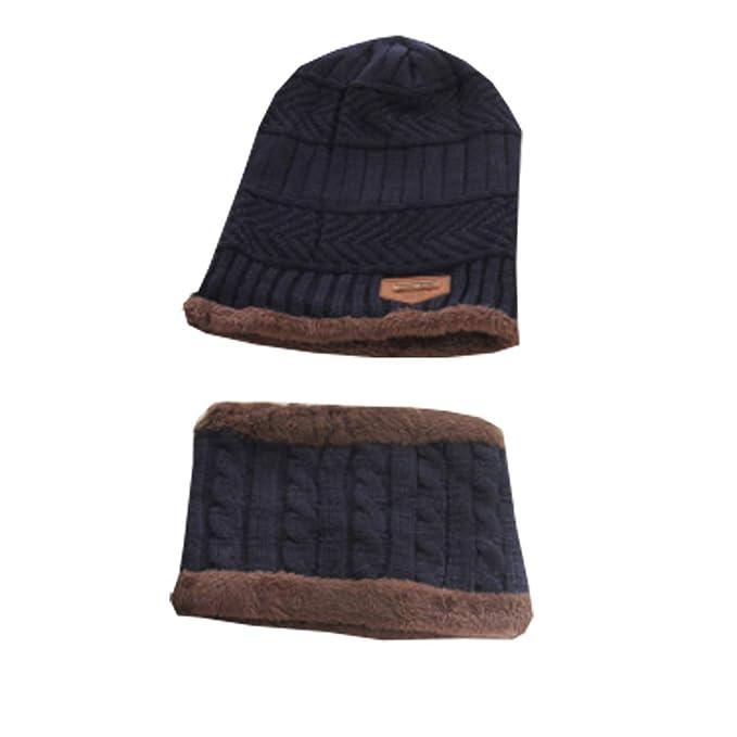 3e9cca5ff5d1b SWEDREAM Winter Strickmütze Schirmmütze Wintermütze Beanie Mütze Hüte Mützen  Caps für Herren Damen Gestrickte Hut und