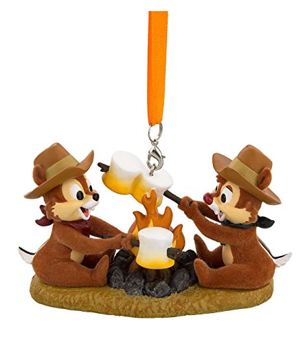 Disney Chip And Dale Campfire Ornament