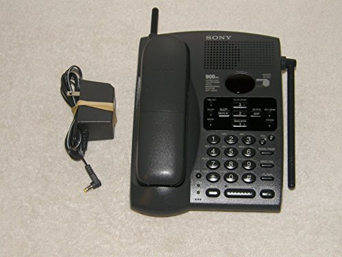 (SONY SPP-A946 900MHz Cordless Telephone with Digital Answering Machine)