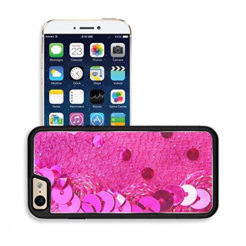 [Luxlady Premium Apple iPhone 6 iPhone 6S Aluminium Snap Case sparkle sequins glitter texture IMAGE] (Discount Christmas Costumes)
