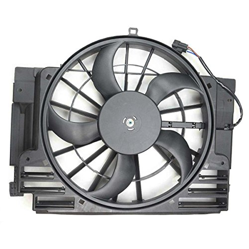 Bmw 2002 Cooling - A-Premium AC Radiator Condenser Cooling Fan for BMW E53 X 5 2000-2006