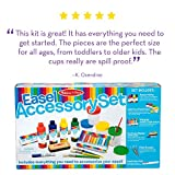 Melissa & Doug Easel Accessory Set,Natural