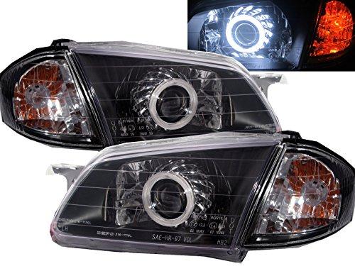 Mazda 323 Headlight Lamp - CABI BJ 323 1998 2000 Eighth generation PRE-FACELIFT Sedan Wagon 4D/5D CCFL Projector Headlight Headlamp for MAZDA LHD