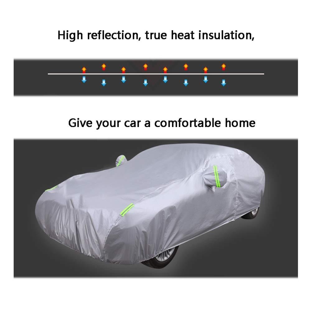 Housses Pour Aut Couverture de voiture adapt/é /à VOLVO C30 C70 Couverture de berline tous temps imperm/éable protection contre la poussi/ère de pluie compatible avec VOLVO sp/écial couverture de voiture a