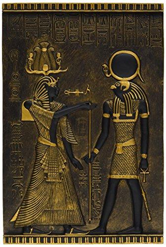 Design Toscano Egyptian Temple Stele Horus Plaque