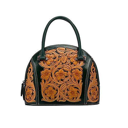 Style Rétro Fait Dames Sac Chinois De Main Style Green à Sac Simple Main La Mode à AJLBT wYxqAItEO