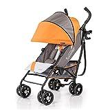 Cheap Summer Infant 3d One Convenience Stroller, Solar Orange