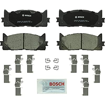 Bosch BC1293 QuietCast Premium Ceramic Disc Brake Pad Set For: Lexus ES300h, ES350; Toyota Avalon, Camry, Front: Automotive