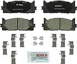 Bosch BC1293 QuietCast Premium Ceramic Front Disc Brake Pad Set