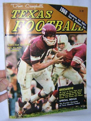- 1968 Dave Campbell's Texas Football Magazine - Edd Hargett