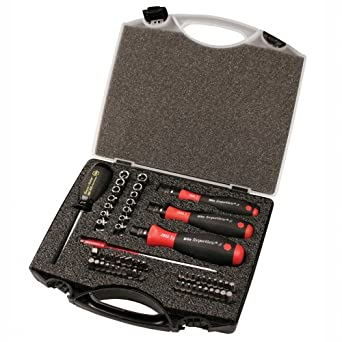 Wiha 28589 Torque Control Set, Accurate Torque 1 to 50 Inch-Pounds, 59 Piece