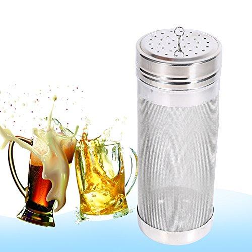 Beer Dry Hopper Filter,304 Stainless Steel Hopper Spider Strainer 300 Micron Mesh Tea Kettle Brew Filter by Fdit (Image #4)