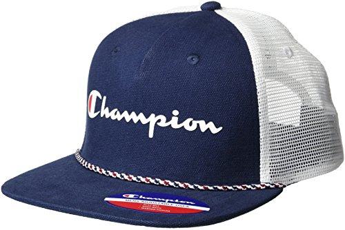 Champion Men's Fade Away Truck Hat, navy, OS]()