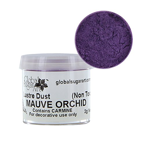 - Mauve Orchid Luster Dust by Global Sugar Art