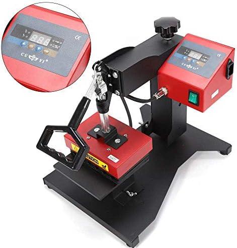 VPABES 6PCS Digital Ballpoint Pen Heat Press Machine 3D Sublimation Heat Press Logo Transfer Machine for DIY Pen Printing