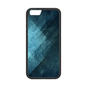Iphone 6 Plus Case Grunge Blue by Leemarson for Black Iphone 6 Plus (5.5)inch Screen lmar608532