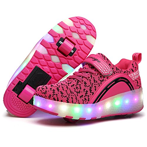 Pictures of HUSK'SWARE LED Lighting Up Shoes Wheels 3