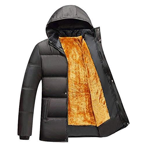 Schwarz Trapuntata Capispalla Cappotto Coat Cappuccio Outdoor Giacca Inverno Hx Abbigliamento Manica Warm Fashion Winter Lunga Taglie Capi 3 In Addensato Cotone Abiti Di Parka Con Comode BBFS1qw