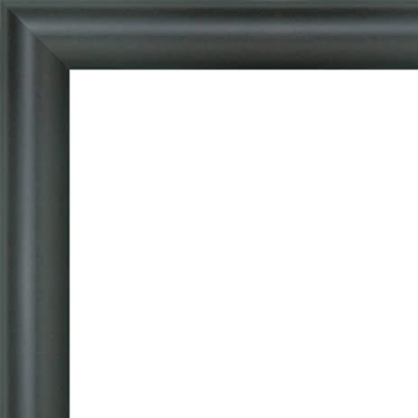 Amazon.com - 8x24 - 8 x 24 Rounded Black Solid Wood Frame with UV ...