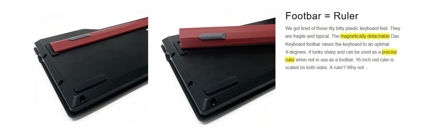 Das Keyboard 4 Professional Soft Tactile MX Brown Mechanical Keyboard (DASK4MKPROSIL) by Das Keyboard (Image #2)
