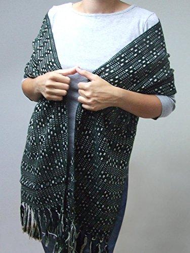 Cashmere shawl merino cashmere scarf handmade cashmere scarf large wool cashmere scarf green cashmere shawl large wool shawl women shawl by HandweavingbyMima