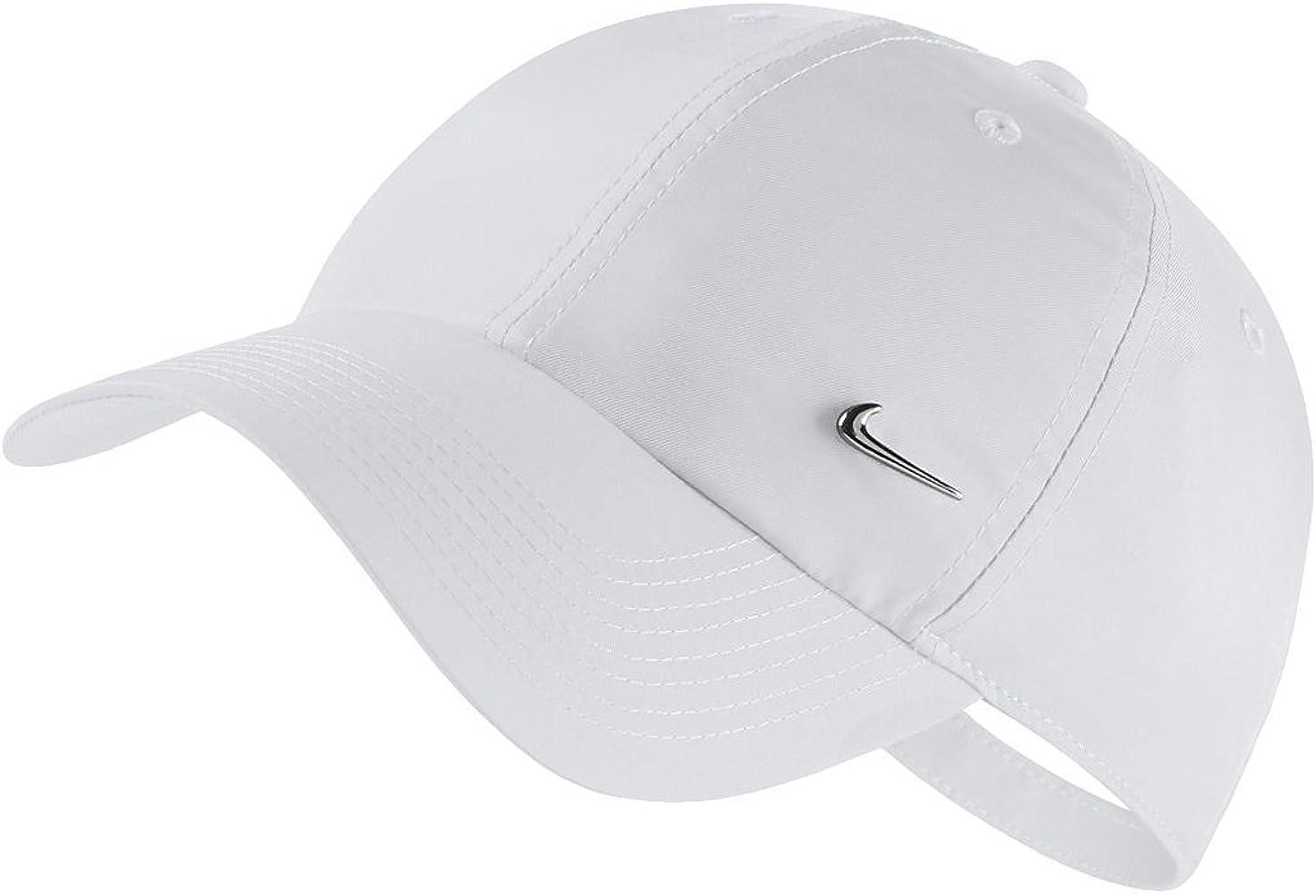 Nike 943092-100 Casquette Mixte Adulte, Blanc/Argent ...