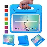 NEWSTYLE Tab E 9.6 Kids Case - Shockproof Light Weight Protection Handle Stand Kids Case for Samsung Galaxy Tab E / Tab E Nook 9.6 Inch 2015 Tablet (Not Fit Other Tablet)(Blue)