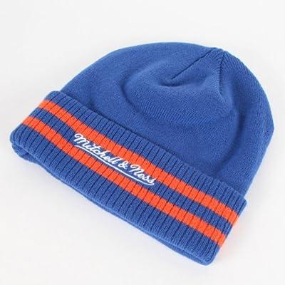 69e76e29 New York Knicks Mitchell & Ness NBA Vintage Stockey Stripe Cuffed Knit Hat. New  York Knicks Mitchell & Ness NBA Vintage Stockey Stripe Cuffed Knit Hat
