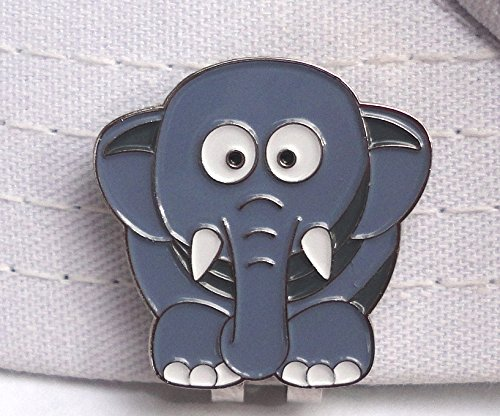 Elephant Golf Ball Marker and Magnetic Hat (Elephant Golf)