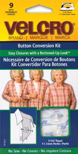 VELCRO Brand Button Conversion Pkg 7