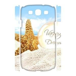 Hotsale Case for Samsung Galaxy S3 I9300 3D - Beautiful starfish ( WKK-R-97613 )