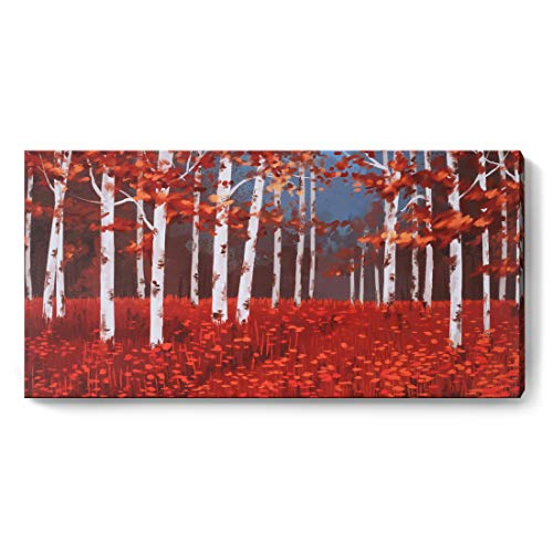 Red Abstract Print - 9