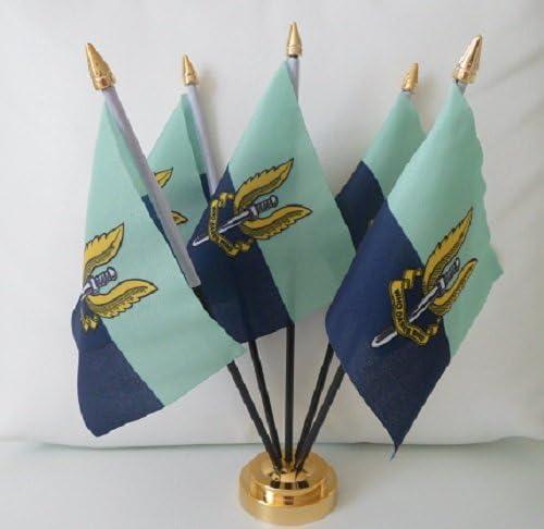 Servicio aéreo especial SAS azul de la bandera de escritorio mesa ...