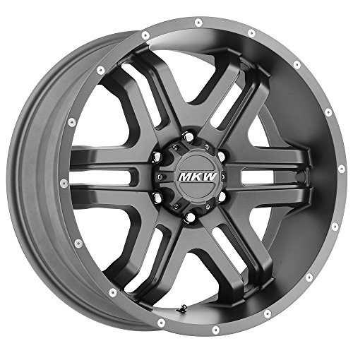 MKW Offroad M93 Anthracite Grey Wheel with Painted (20 x 9. inches /8 x 180 mm, 10 mm - Anthracite Painted Wheels