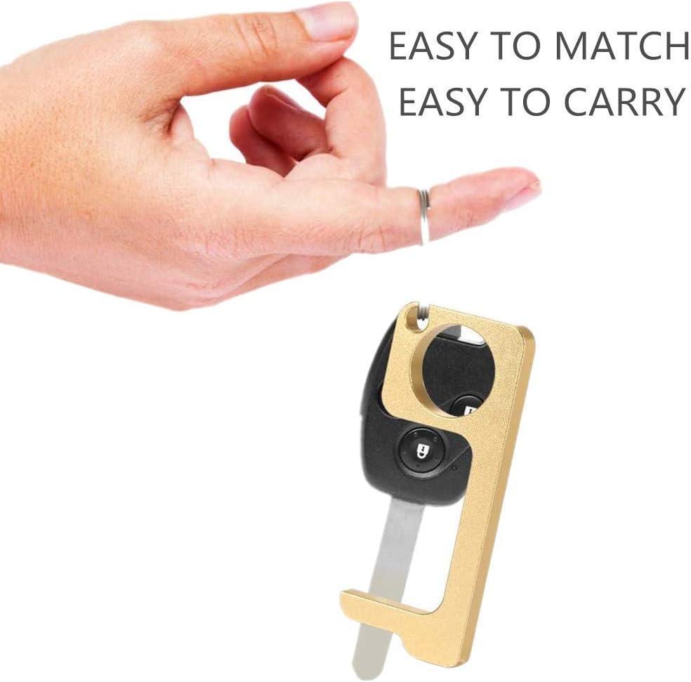4 Pcs No-Touch Door Opener Door-Handles Isolation-Key Contactless Safety-Protection
